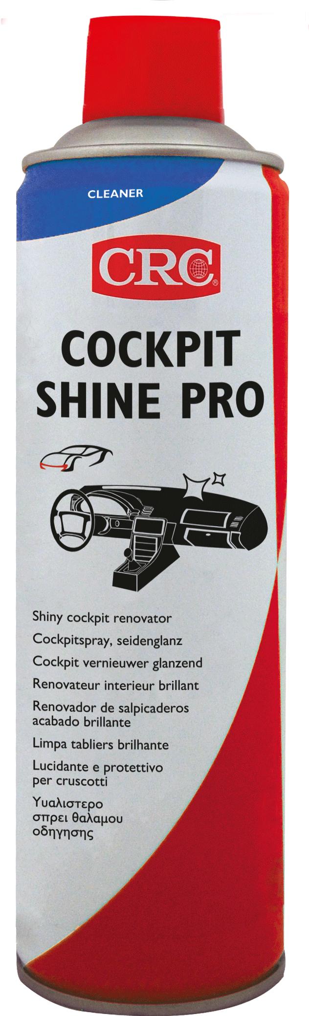 Afbeelding van crc automotive cockpit shine pro 400 ml, spuitbus