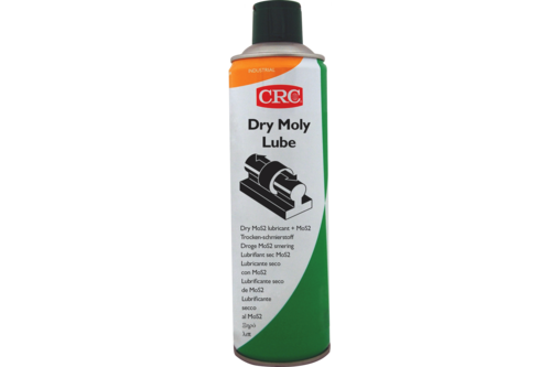 Crc industry crc dry moly lube 500 ml, spuitbus