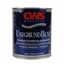 Afbeelding van Cws wertlack unigrund bunt hechtprimer alykd 2,5 l, grijs