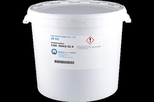 Calciumchloride 20kg, emmer