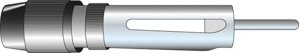 Afbeelding van Carcoustic antenne reparatiestekker din recht