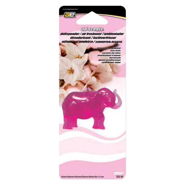 Afbeelding van 3D scents Luchtverfrisser Elephant
