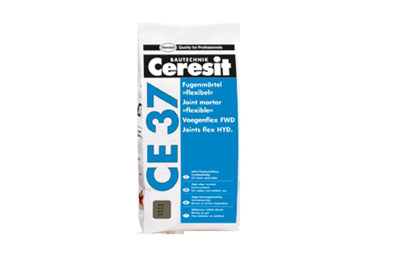Afbeelding van Ceresit ce 37 voegenflex uitverkoopartikel 5 kg, cementgrijs