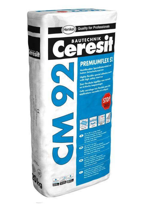Afbeelding van Ceresit cm 92 flexibele tegellijm uitverkoopartikel 20 kg