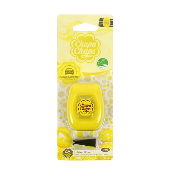 Afbeelding van Chupa chups luchtverfrisser vent 5ml citroen