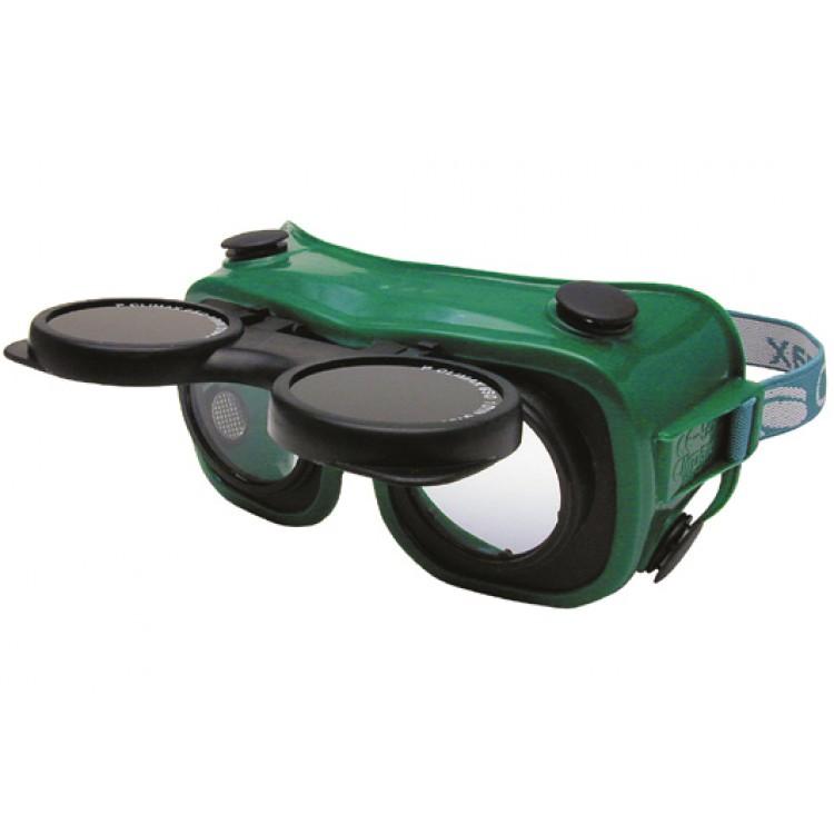 Afbeelding van Climax lasbril opklapbaar groen