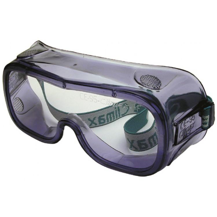 Afbeelding van Climax veiligheidsbril zuurbestendig pvc zwart