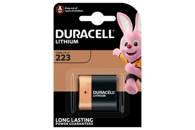 Duracell knoopcelbatterij 2430/CR2430 lithium 3 volt BP1