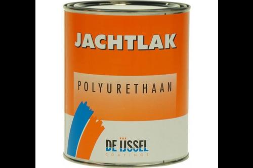 De ijssel coatings jachtlak pu blank hoogglans 1 kg, blank, blik