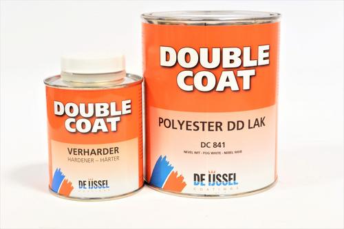 De ijssel coatings double coat polyester dd lak 1 kg, lichtgrijs, dc811, blik