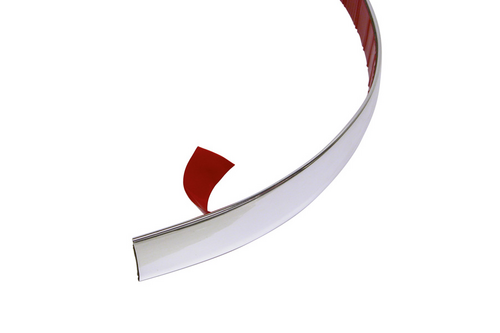 Carpoint decoratie strip chroom 22mm 2mtr