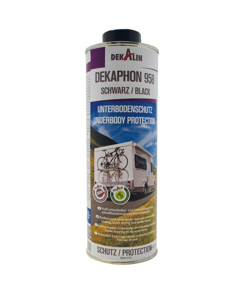 Afbeelding van Dekalin dekaphon 958 1 l, zwart, literbus