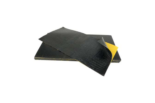 Dinitrol antidreunplaten per stuk 25 x 50 cm  , zwart, per stuk