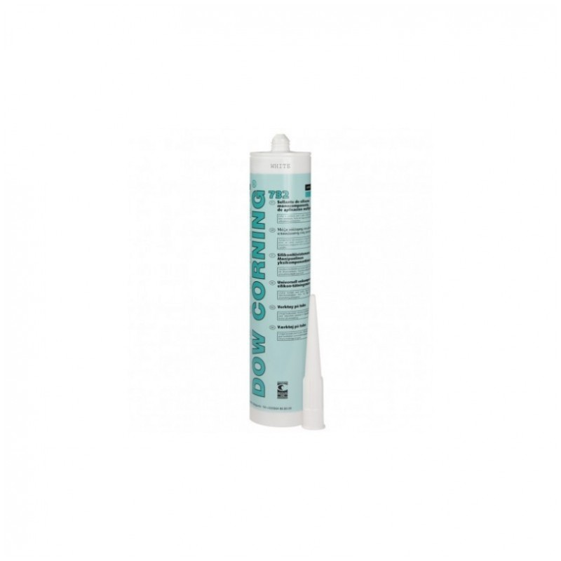 Afbeelding van Dow consumer solutions dowsil 732 rtv 310 ml, transparant, patroon