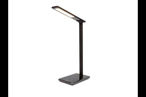 Perel dimbare led bureaulamp met raadloze oplader
