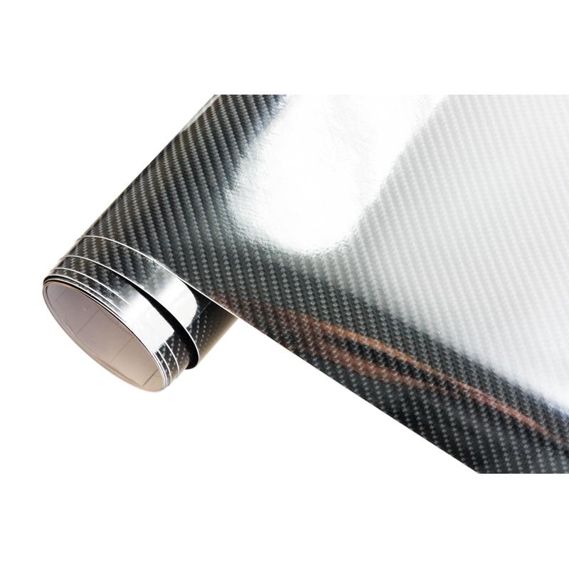 Afbeelding van Autostyle 5d carbonfolie 152x200cm glanzend zwart zelfklevend