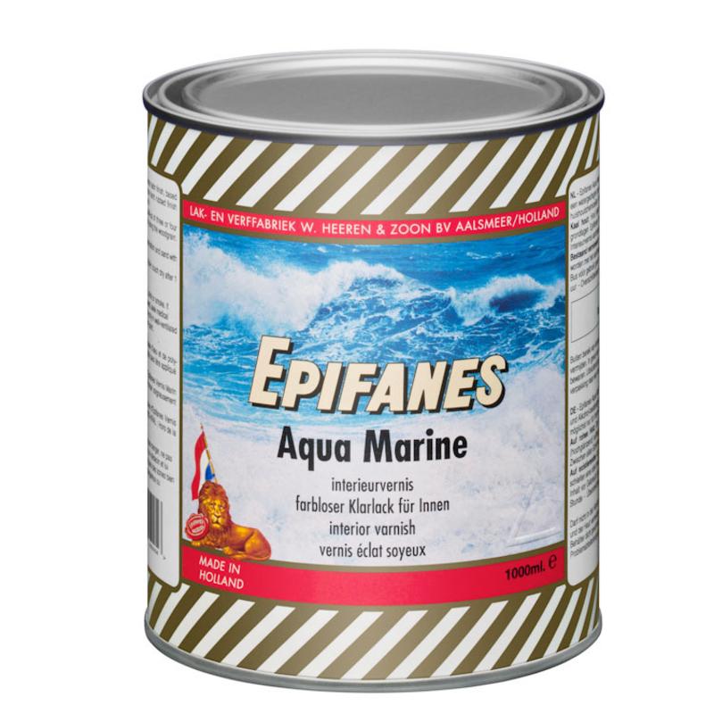 Afbeelding van Epifanes aqua marine interieurvernis 1 l, helder transparant, blik