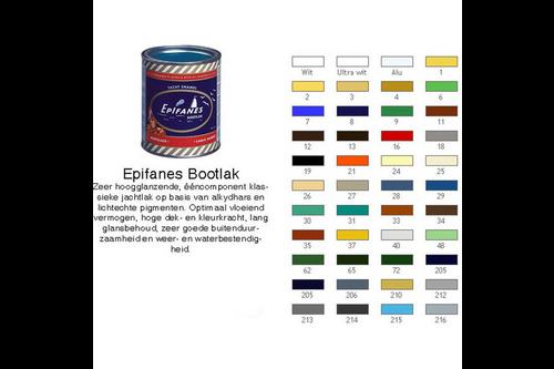 Epifanes bootlak kleur 2 l, nummer 24 wit, blik