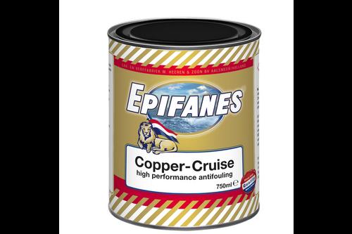 Epifanes copper cruise high performance antifouling 750 ml, donkerblauw, blik