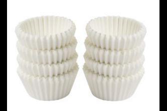 Fackelmann Zenker muffinvormpjes wit 200 stuks