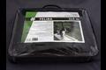 Hwtc feliba kattennet 3x4 m, maas  30x30mm zwart, maas 30x30 mm, zwart