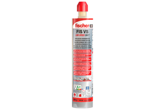 Fischer Injectiemortel FIS VS 300 T Low Speed 10 kokers FIS VS 300 T, 20 x FIS MR Plus Mengtuiten