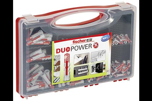 Fischer redbox duopower pluggen 280 stuks