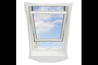Hamstra Gaasnet voor dakramen 120x140 wit