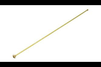 Gloria Verlengstuk messing 100 cm