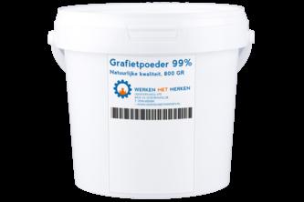 KINGSTON Grafietpoeder 800 GR, Grafietzwart