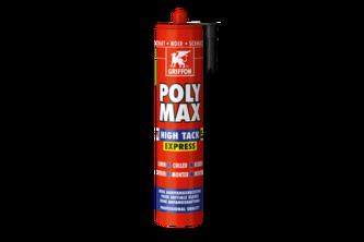 Griffon PolyMax HighTack Express 435 GR, ZWART, KOKER