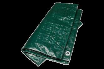 Argos PE Dekkleed / Dakzeil – Groen 5 x 6 M, 100 g/m2, Groen
