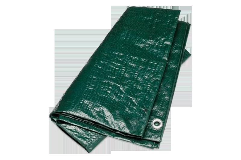 Afbeelding van Argos pe dekkleed dakzeil groen 10 x 12 m, 100 g m2,