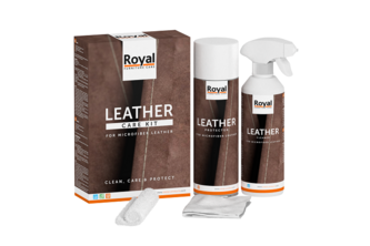 Oranje Furniture Care Microfiber Leather Care Kit