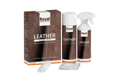 Royal Furniture Care Oranje Furniture Care Microfiber Leather Care Kit