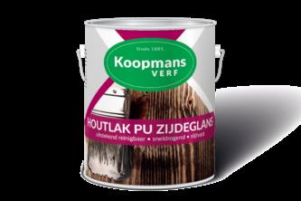 Koopmans Houtlak PU Zijdeglans 250 ML, BLANK