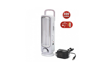 VELAMP Oplaadbare noodlamp 2 led buizen 300 lm twix