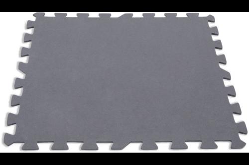 Intex vloertegels voor zwembad 8 stuks grijs 50x50x0.5 cm