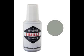 Kingston Emaille Reparatie Tip 20 ML, MANHATTAN, RAL 7004, Flacon + kwast