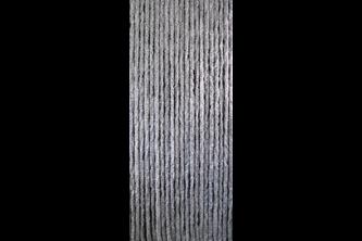 Sun-Arts Kattenstaart 90x220cm Grijs - wit gemeleerd
