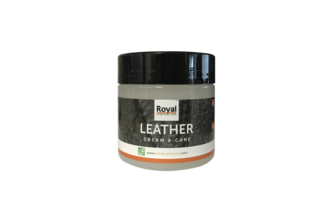FIXX Oranje Furniture Care Leather Cream & Care 180 ML, POT