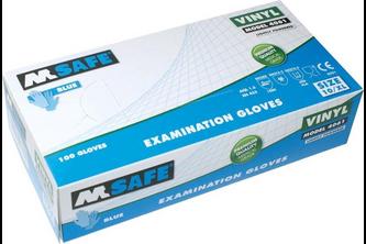 M-Safe 4061 disposable vinyl handschoen