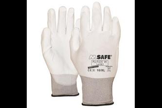M-Safe PU-Flex Wit 14-083 handschoen