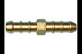 Dubbele slangpilaar (slangverbinder) 6 mm