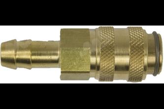 Snelkoppeling slangpilaar 8 mm