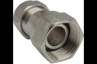 Verloopkoppeling M24 x 1.5 naar 15 mm knelkoppeling - M24 binnendraad, 15 mm M24 binnendraad, 15 mm