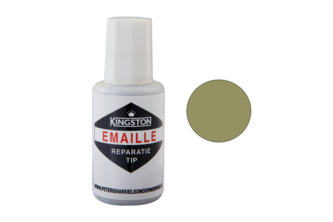 Kingston Emaille Reparatie Tip Hoogglans, 20 ML, VARENGROEN, Ral 6025