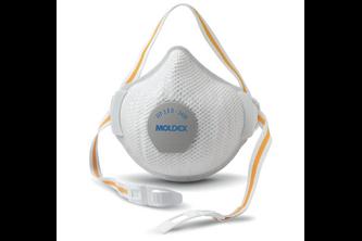 Moldex 3408 Herbruikbaar stofmasker Air Plus ProValve FFP3 R D met ProValve ventiel