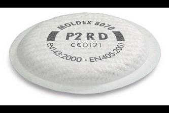 Moldex 8070 Fijnstoffilter P2 R D voor serie 8000 1 Stuk
