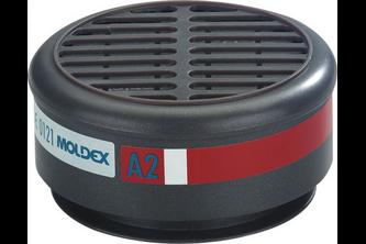Moldex 8500 Gasfilter A2 voor serie 8000 2 STUKS